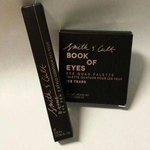 NIB Smith & Cult Eyeliner Eyeshadow Quad Duo